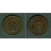 LUXEMBURG 5 Centimes 1854  ss+/ss