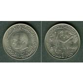 TUNESIEN 1 Dinar 1976  f.stgl.