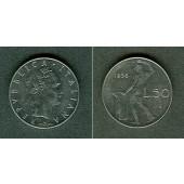 ITALIEN 50 Lire 1956  f.vz