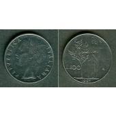 ITALIEN 100 Lire 1967 R  stgl.