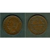 ITALIEN 10 Centesimi 1893 BI  vz-