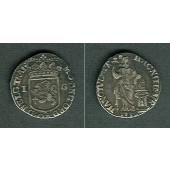 NIEDERLANDE Utrecht 1 Gulden 1736  ss+