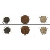 Lot:  ESTLAND  3x Münzen 1 + 5 +10 Senti  [1929-1931]