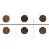 Lot:  NIEDERLANDE  3x Münzen 1 Cent  [1878-1919]