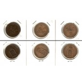Lot:  SCHWEDEN 3x Münzen  2 Öre  [1892-1902]