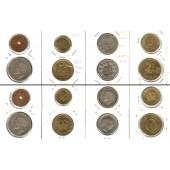 Lot:  JUGOSLAWIEN 8x Münzen Para + Dinar  [1925-1955]