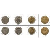 Lot:  JUGOSLAWIEN 4x Münzen 1 - 10 Dinar  [1925-1938]