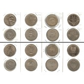 Lot:  POLEN 8x Münzen 10 + 20 Zloty  [1967-1976]