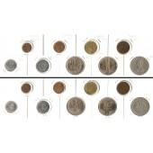 Lot:  POLEN 9x Münzen Groszy + Zloty  [1923-1976]