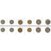 Lot:  RUMÄNIEN 6x Münzen 5 - 25 Bani  [1905-1960]