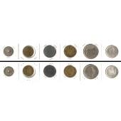 Lot:  RUMÄNIEN 6x Münzen Bani + Lei  [1906-1944]