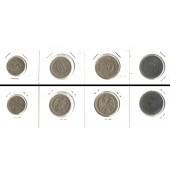 Lot:  SERBIEN 4x Münzen Para + Dinar  [1912-1942]