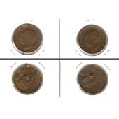 Lot:  ITALIEN 2x Münzen 10 Centesimi  [1920-1921]