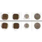 Lot:  MALAYA / MALAYSIA 4x Münzen  1 5 20 Cents  [1940-1961]