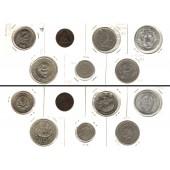 Lot:  ALLE WELT / WORLD COINS 7x Münzen  [1874-1993]