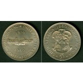 SÜDAFRIKA / SOUTH AFRICA 5 Shillings 1960 SILBER  f.stgl.