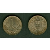 SLOWAKEI 1 Krone 1942  vz-stgl.