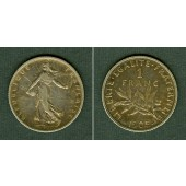 FRANKREICH 1 Franc 1905  ss+