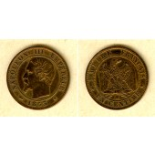 FRANKREICH 1 Centime 1853 BB  ss+