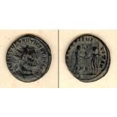 Flavius Valerius CONSTANTIUS I. (Chlorus)  Antoninian  vz-/ss  selten  [305-306]