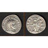 M. Julius Severus PHILIPPUS II. Filius  Antoninian  vz/ss-vz  selten  [247-249]