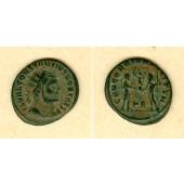Flavius Valerius CONSTANTIUS I. (Chlorus)  Antoninian  ss+  selten  [295-296]
