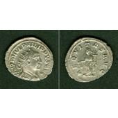 M. Julius Severus PHILIPPUS II. Filius  Antoninian  vz/vz-  selten  [247-249]