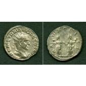 Caius Messius Quintus TRAJANUS DECIUS  Antoninian  ss+  [249-251]