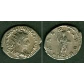 Gaius Vibius TREBONIANUS GALLUS  Antoninian  ss+  selten  [251-253]
