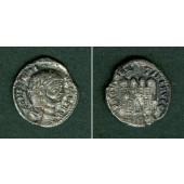 Flavius Valerius CONSTANTIUS I. (Chlorus)  Argenteus  ss  selten!  [295]