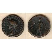 Titus Flavius DOMITIANUS  As  ss+  [73]