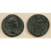 Titus Flavius DOMITIANUS  As  ss+/ss  [85-86]