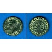 Julius Caesar DRUSUS JUNIOR  As  RESTITUTION  ss  selten!  [80-81]