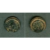Flavius THEODOSIUS I. (Magnus)  AE3 Kleinbronze  selten  [379-383]