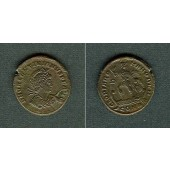Flavius VALENTINIANUS II.  AE2 Mittelbronze  vz-  selten  [378-383]