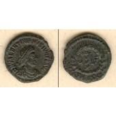 Flavius VALENTINIANUS II.  Kleinbronze  vz/ss-vz  selten  [378-383]