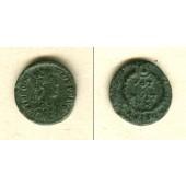 Flavius THEODOSIUS I. (Magnus)  AE3 Kleinbronze  vz/ss  selten  [379-383]