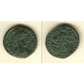 Flavius GRATIANUS  AE2 Mittelbronze  ss-vz  selten  [378-383]