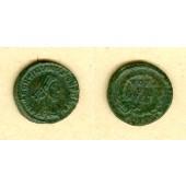 Flavius VALENTINIANUS II.  AE4 Kleinbronze  ss-vz  selten  [378-383]