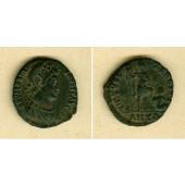 Flavius VALENTINIANUS II.  AE2 Mittelbronze  ss+/ss  selten  [383-388]