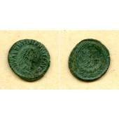 Flavius VALENTINIANUS II.  AE4 Kleinbronze  ss+  selten  [378-383]
