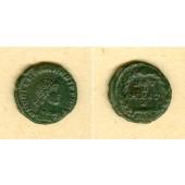 Flavius VALENTINIANUS II.  AE4 Kleinbronze  selten!  f.vz/ss  [378-383]