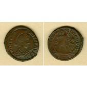 Flavius THEODOSIUS I. (Magnus)  AE2 Kleinbronze  ss+  [379-383]