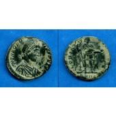 Flavius THEODOSIUS I. (Magnus)  AE2 Kleinbronze  f.vz  [392-395]