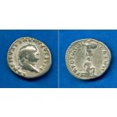 TITUS Flavius Vespasianus  Denar  ss  selten  [74-79]