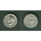 TITUS Flavius Vespasianus  Denar  ss-  selten  [80]