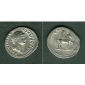 Titus Flavius DOMITIANUS  Denar  ss+  selten  [76]