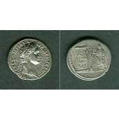 Titus Flavius DOMITIANUS  Denar ss-vz  sehr selten!  [88]