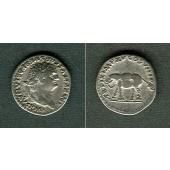 TITUS Flavius Vespasianus  Denar  ss+  [80]