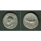 Titus Flavius VESPASIANUS  Denar  ss+  Var.!  [77-78]
